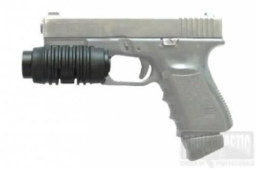 Pištoľový držiak na baterku 1″ na picatinny 2