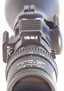 "Montáž na optiku HB-M-2 1,18"" 30mm"