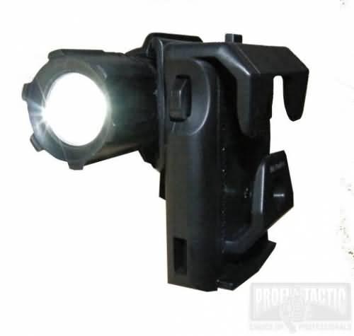 Rotačné plastové púzdro pre taktické baterky Helios 3 a Barracud 2