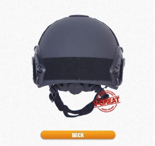 Ochranná balistická prilba IIIA FAST 3