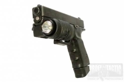 Pištoľový držiak na baterku 1″ na picatinny 4