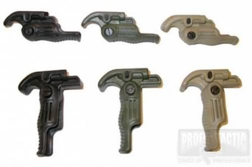 Predná taktická sklopná rukoväť 4