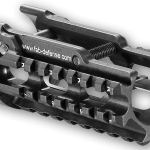 Hard anodized aluminum Hand guards for MP5K  with Integrated   picatiny 3 rails