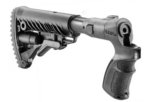 M4 Folding Collapsible Butt stock for Mossberg 500 1