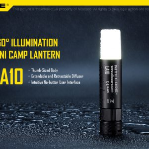 Mini lampa NITECORE LA10