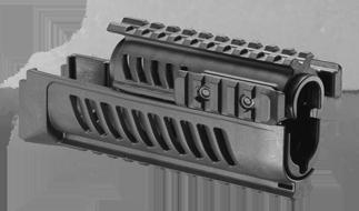 Nadpažbie a podpažbie pre AK-47 1