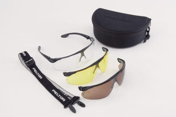 Ochranné balistické okuliare Peltor set 1