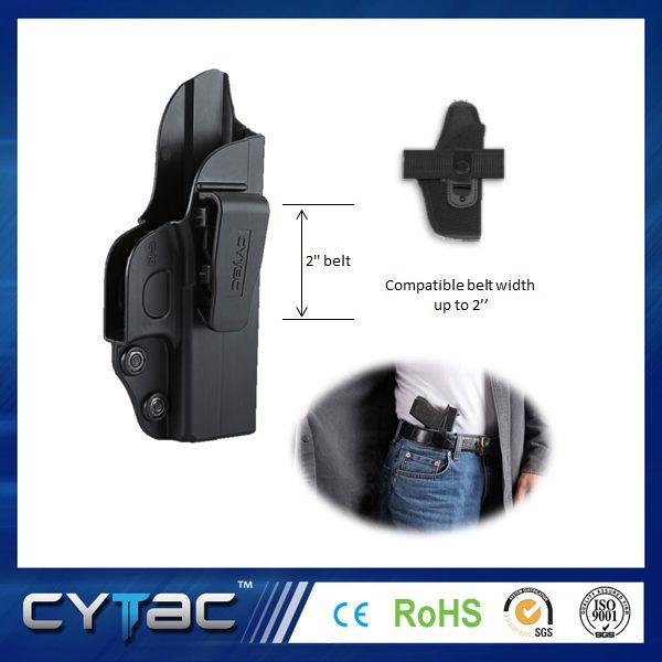 Pištoľové opaskové púzdro Cytac na skryté nosenie pre Glock 43 1