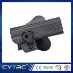 Pištoľové púzdro Cytac pre HK USP s pádlom + opasková redukcia + molle redukcia 1