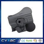 Pištoľové púzdro Cytac pre Glock 43 s pádlom + opasková redukcia + molle redukcia 1
