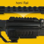 Rail Picatinny weaver MIL-STD-1913 lenght 98mm horný 1