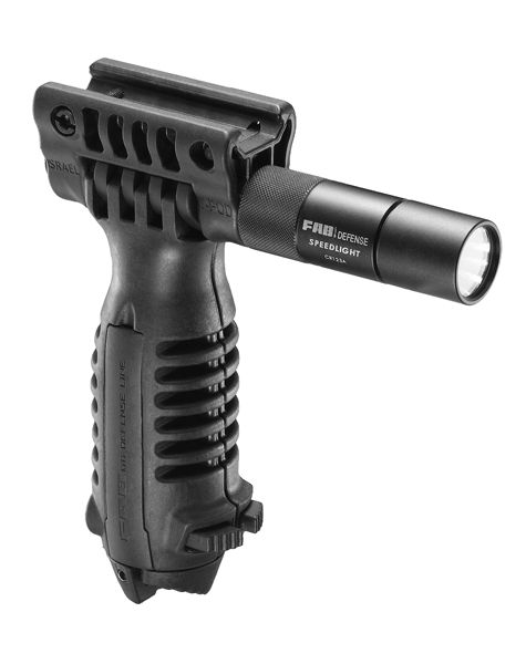 Tactical Bipod Foregrip With Integrated 3V Flashlight 1