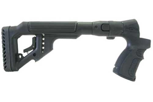 Tactical Folding Butt Stock for Mossberg 500 w/ Cheek Piece 1