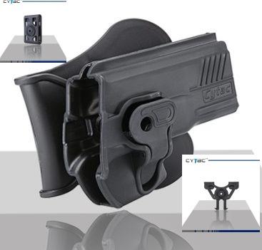 Pištoľové púzdro Cytac pre ČZ-P07 s pádlom + opasková redukcia + molle redukcia 2