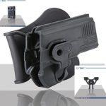 Pištoľové púzdro Cytac pre HK USP s pádlom + opasková redukcia + molle redukcia 2