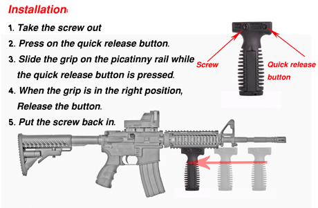 Tactical Foregrip 2