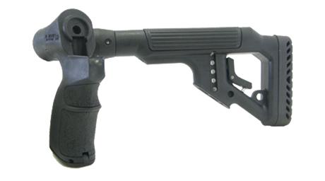 Tactical Folding Butt Stock for Mossberg 500 w/ Cheek Piece 4