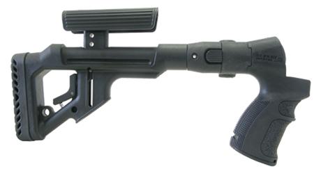 Tactical Folding Butt Stock for Mossberg 500 w/ Cheek Piece 2