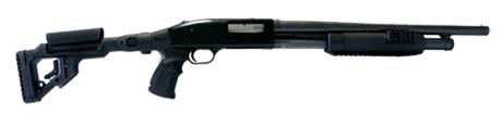 Tactical Folding Butt Stock for Mossberg 500 w/ Cheek Piece 3